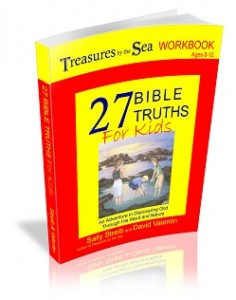 Treasures by the Sea Workbook designed and co-authored by David Valentin.